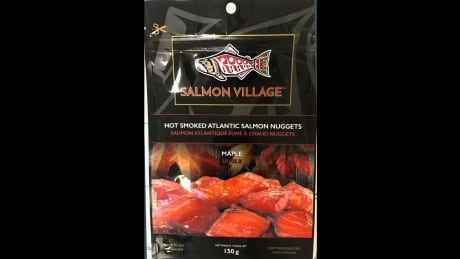 Recall issued for salmon nuggets over possible listeria contamination