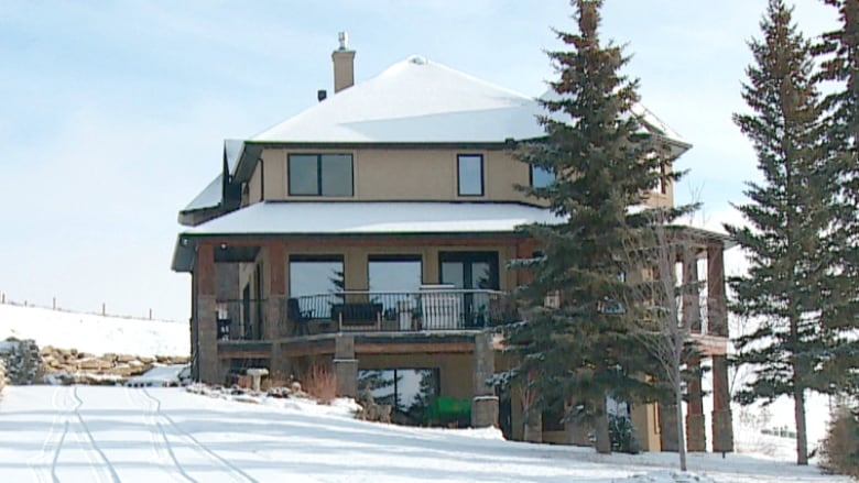 Millarville, Alta , woman giving away $1 7M home in letter-writing