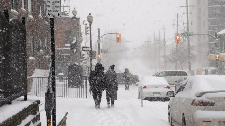 Just in time for Christmas - snowfall warning for Hamilton, Niagara and Haldimand