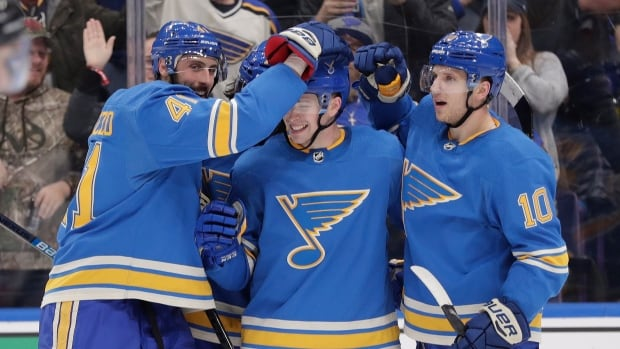Blues continue march up standings with victory over Senators