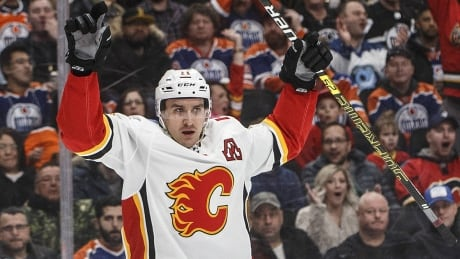 Calgary Flames Mikael Backlund Jan 19