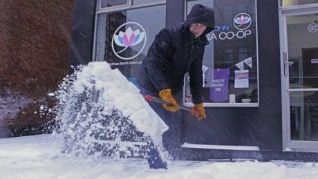 Figure skaters stranded as winter storm pummels Saint John