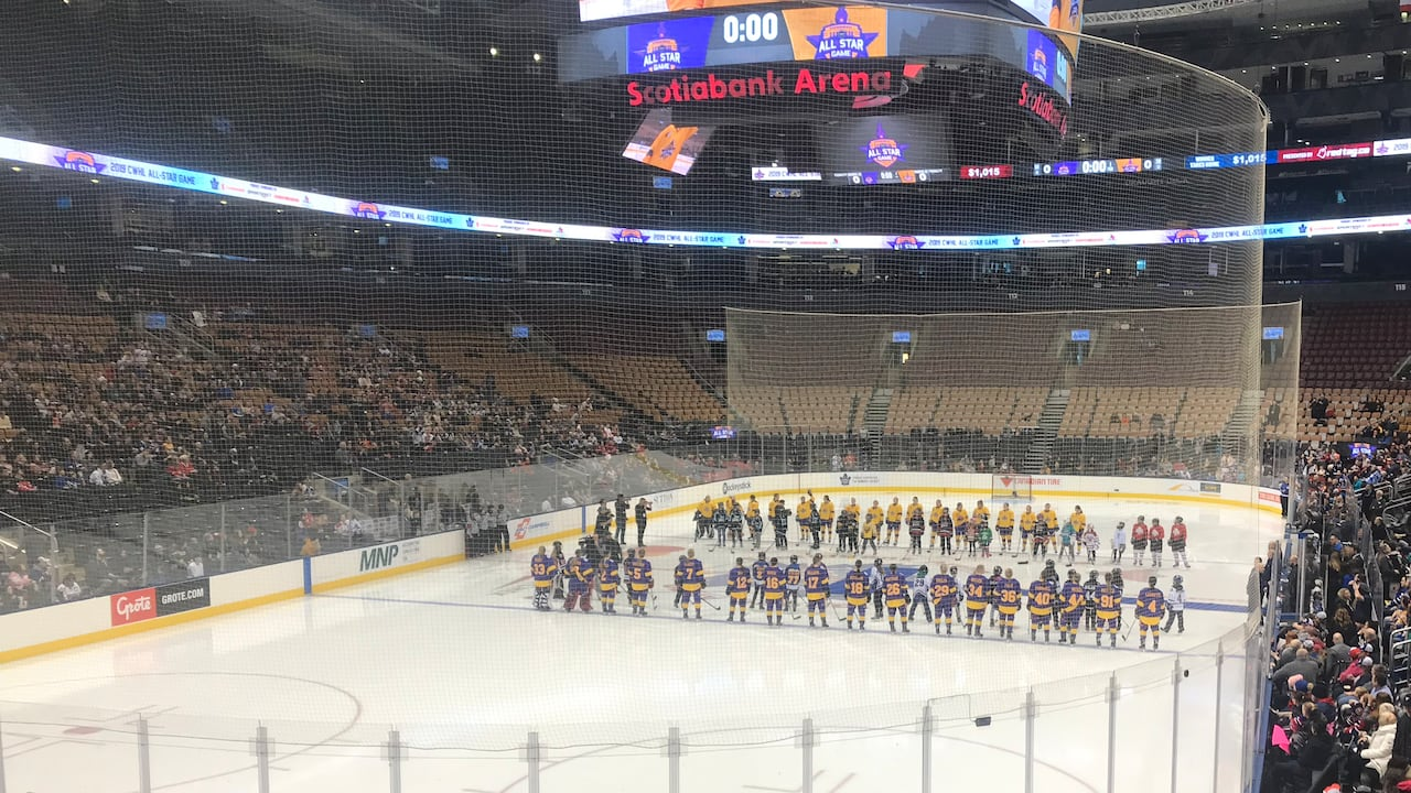 Recap Merger Equality On Players Minds At Cwhl All Star Game