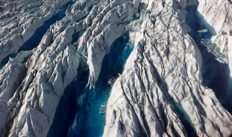 Greenland's ice melting rate increases four times in nine years