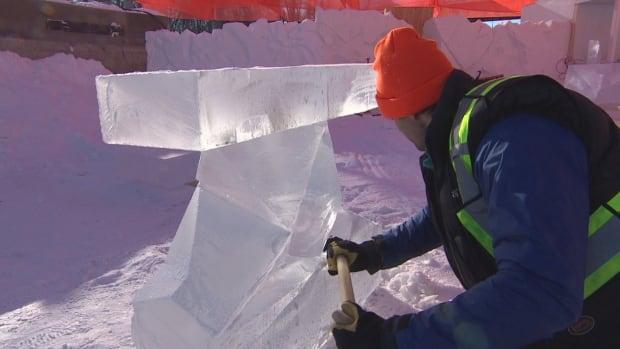 Music played on ice, with ice, kicks off Winnipeg New Music Festival  | CBC News