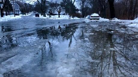 icy road halifax