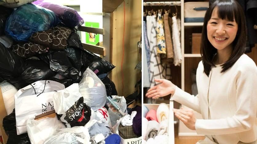 4aac38f1c29 Thrift stores cash in on Marie Kondo s decluttering craze