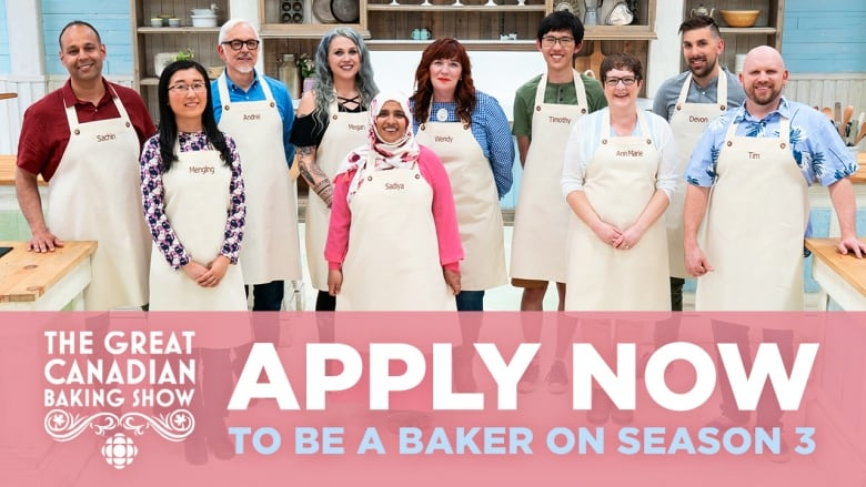 Apply now for Season 3 of The Great Canadian Baking Show
