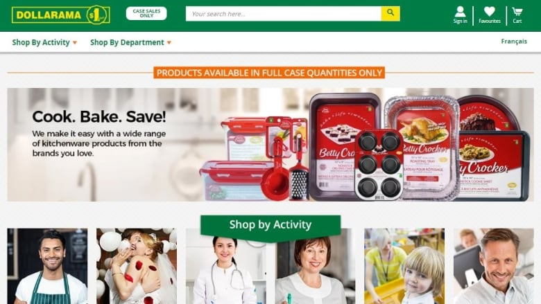 Dollarama officially opens an online store in Canada
