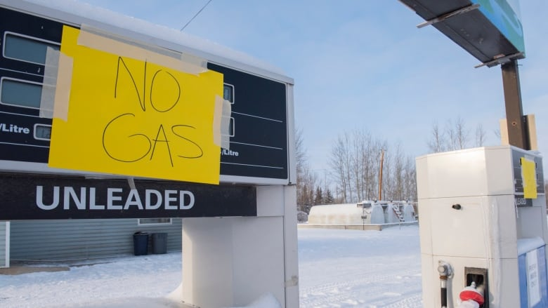 Gas Station For Sale In Alberta >> Enterprise N W T S Only Gas Bar Shuts Its Doors