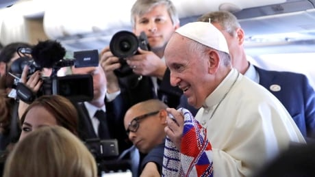 Amid U.S.-Mexico wall debate, Pope says fear of migration 'makes us crazy'