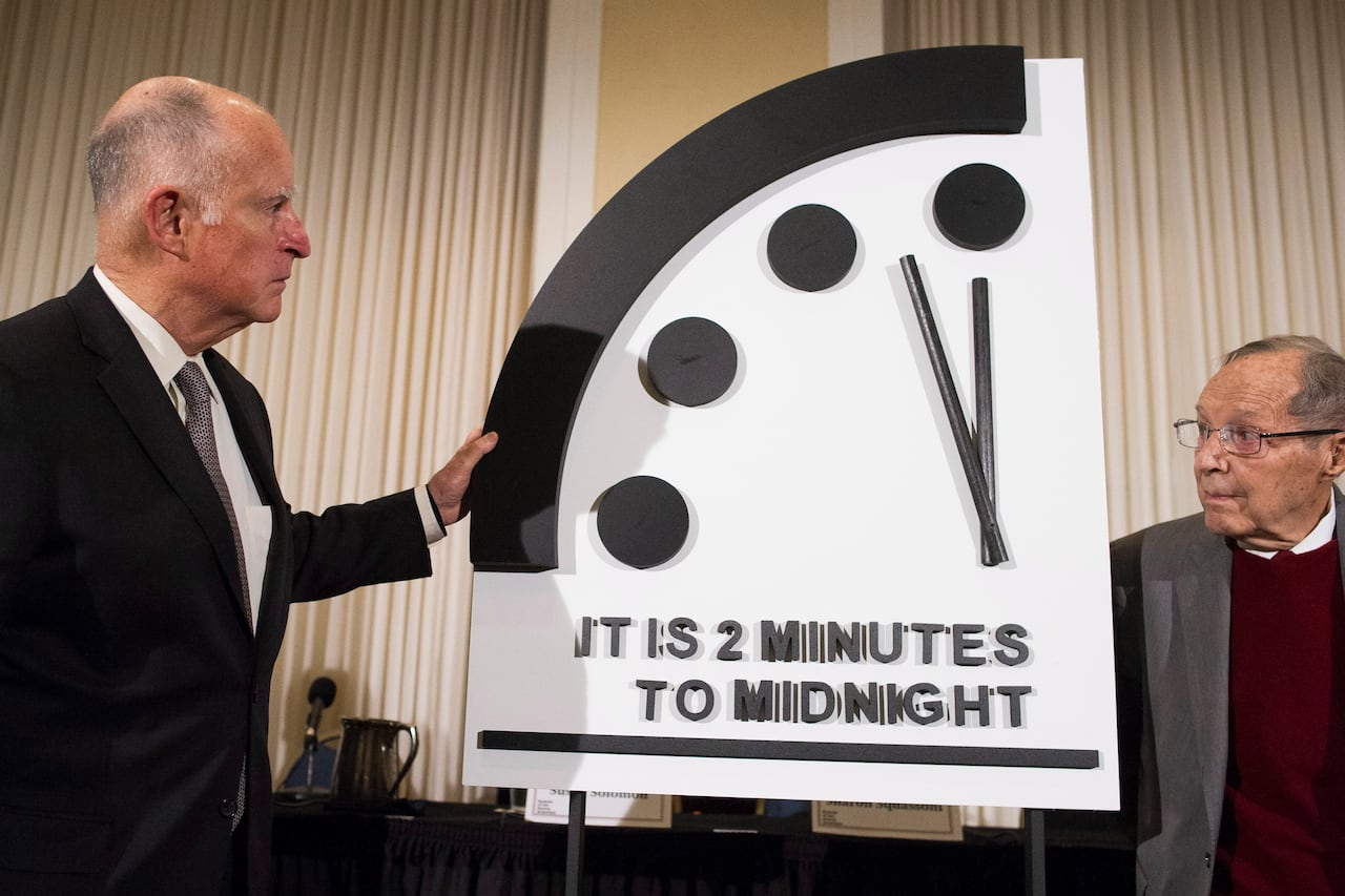 Doomsday Clock Remains At 2 Minutes To Midnight Cbc News