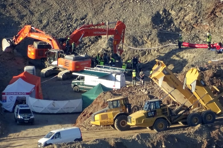 Spanish boy found dead in borehole after dire 13-day search