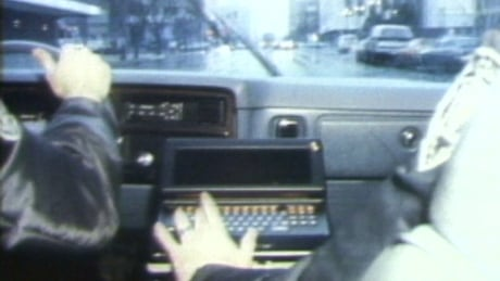 When computer-equipped cop cars hit Vancouver streets 40 years ago