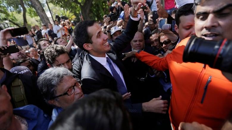 World turns on Venezuela's Maduro