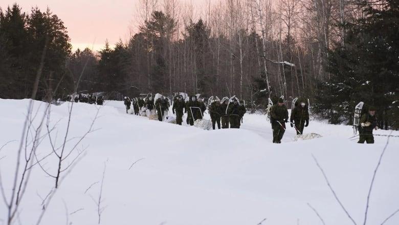 Training Exercise Frostbite