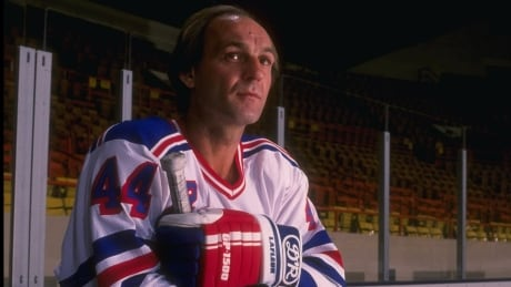 Guy Lafleur in his New York Rangers uniform