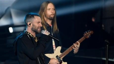 Super Bowl-Maroon 5 Football