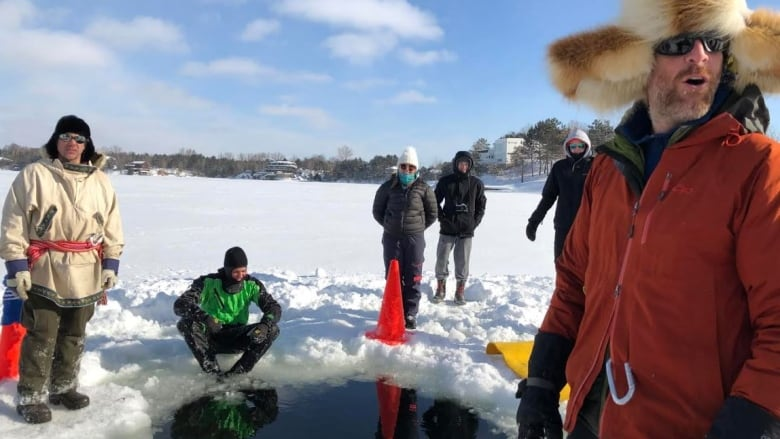 Laurentian Students Learn A Chilling Lesson On Lake Ramsey Cbc News