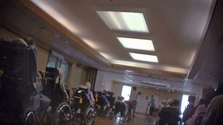 Hidden-camera footage reveals overstretched nursing home staff struggling to care for residents