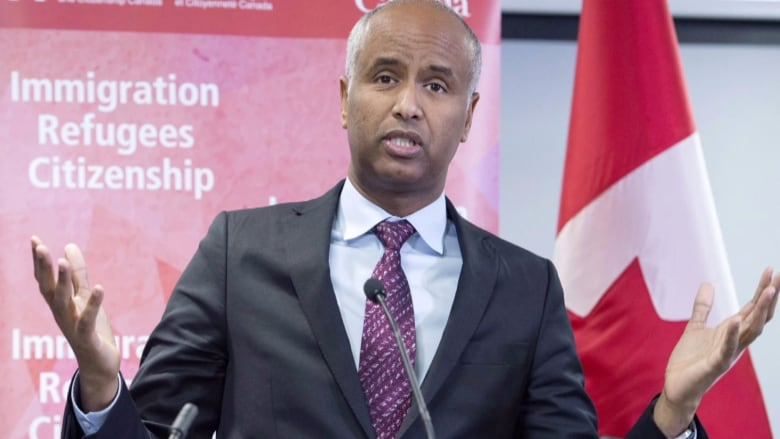 Immigration Minister Hussen impersonated in refugee scam   CBC News