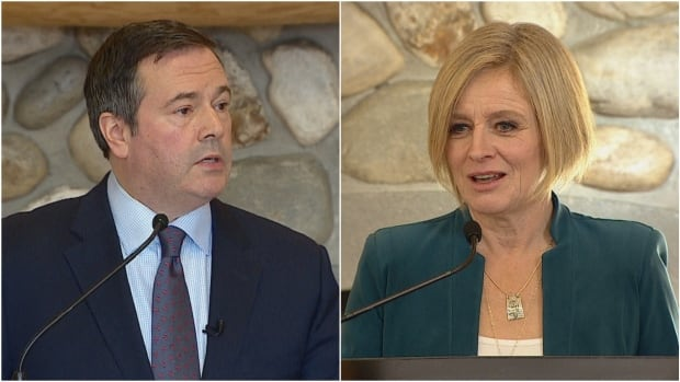 Rachel Notley, Jason Kenney meet to discuss transition of power