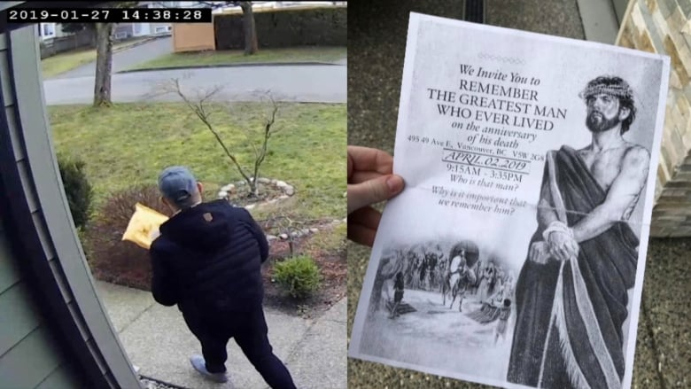 Police investigating man for alleged package theft from