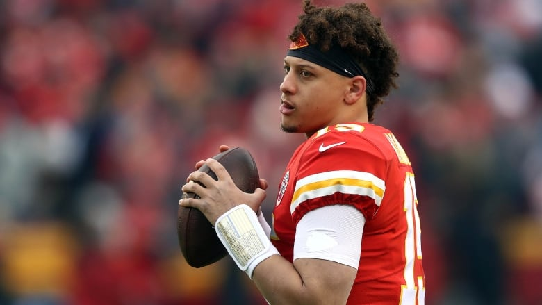 Patrick Mahomes' girlfriend celebrates Chiefs QB's MVP honors