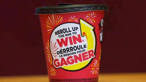 Tim Hortons changes Roll Up the Rim contest to go greener | CBC News