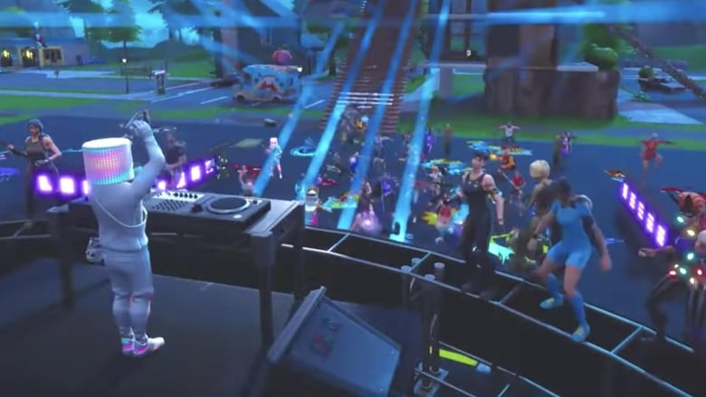Millions flock to record-breaking in-game Fortnite concert