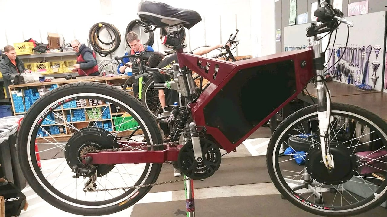 Thief Takes Off With Ubc Engineering Team S 5k Electric Bike
