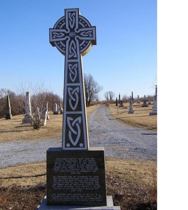 The forgotten history of a Victorian-era Irish cemetery in
