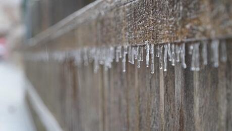 Freezing Rain in London, Ontario