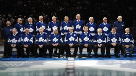 The Leafs last  Stanley cup winning team...pictured in 2007