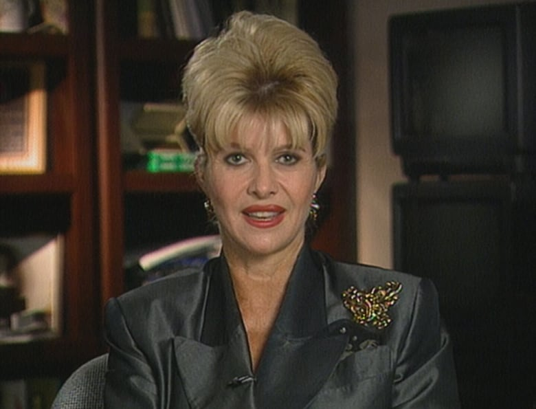 In 1999, Ivana Trump was interviewed by Radio-Canada's Robert Scully. (Scully Rencontre/Radio-Canada)