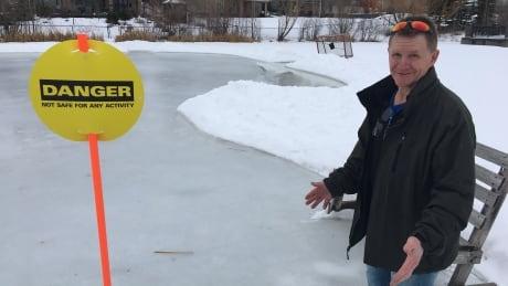 allan sporer ice rink stormwater pond