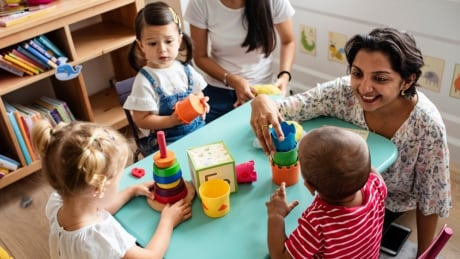 child care centre stock image