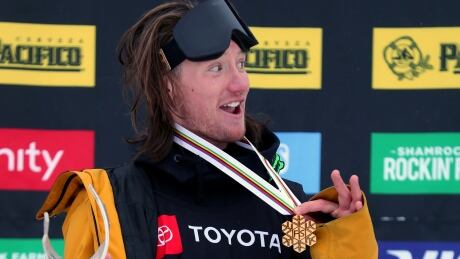James Woods soars to ski slopestyle gold at world championships