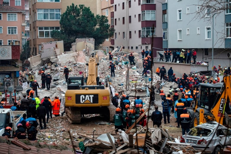 Death Toll Reaches 14 After Building Collapses In Istanbul Cbc News