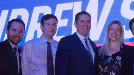 Andrew Scheer and Hamish Marshall