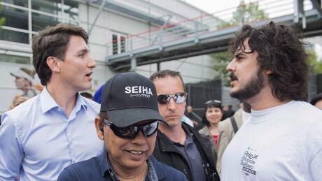 CRIME Trudeau Bloc Candidate 20180822