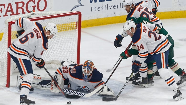 The Edmonton Oilers stopped a six-game losing streak with a 4-1 win over  the Minnesota Wild on Thursday in St. Paul b0bac8281