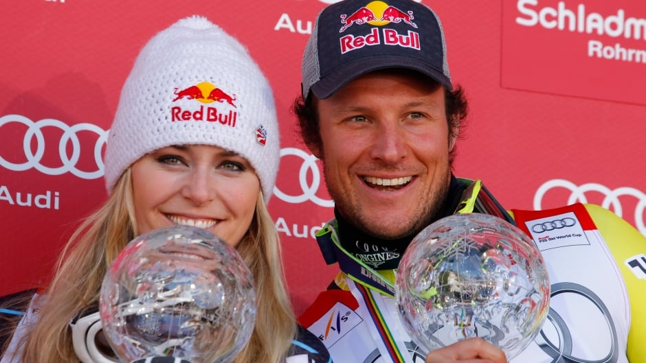 End Of An Era Lindsey Vonn Aksel Lund Svindal Ski Into The Sunset Cbc Sports