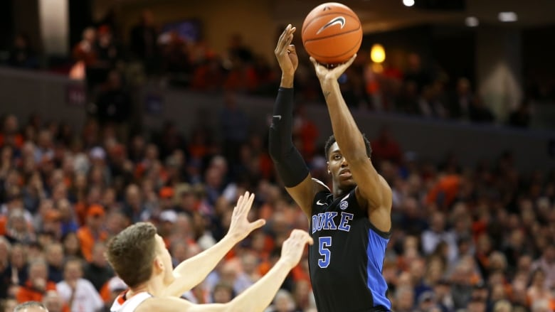 No. 2 Duke tops No. 3 Virginia, 81-71
