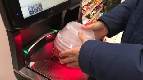 Canadian Tire self-checkout