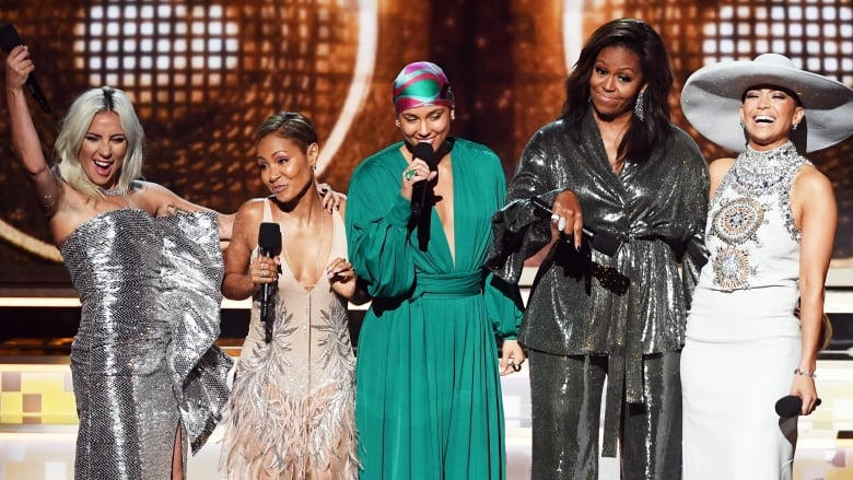 grammys 2019 women in the spotlight hip hop makes history and tributes galore cbc news grammys 2019 women in the spotlight