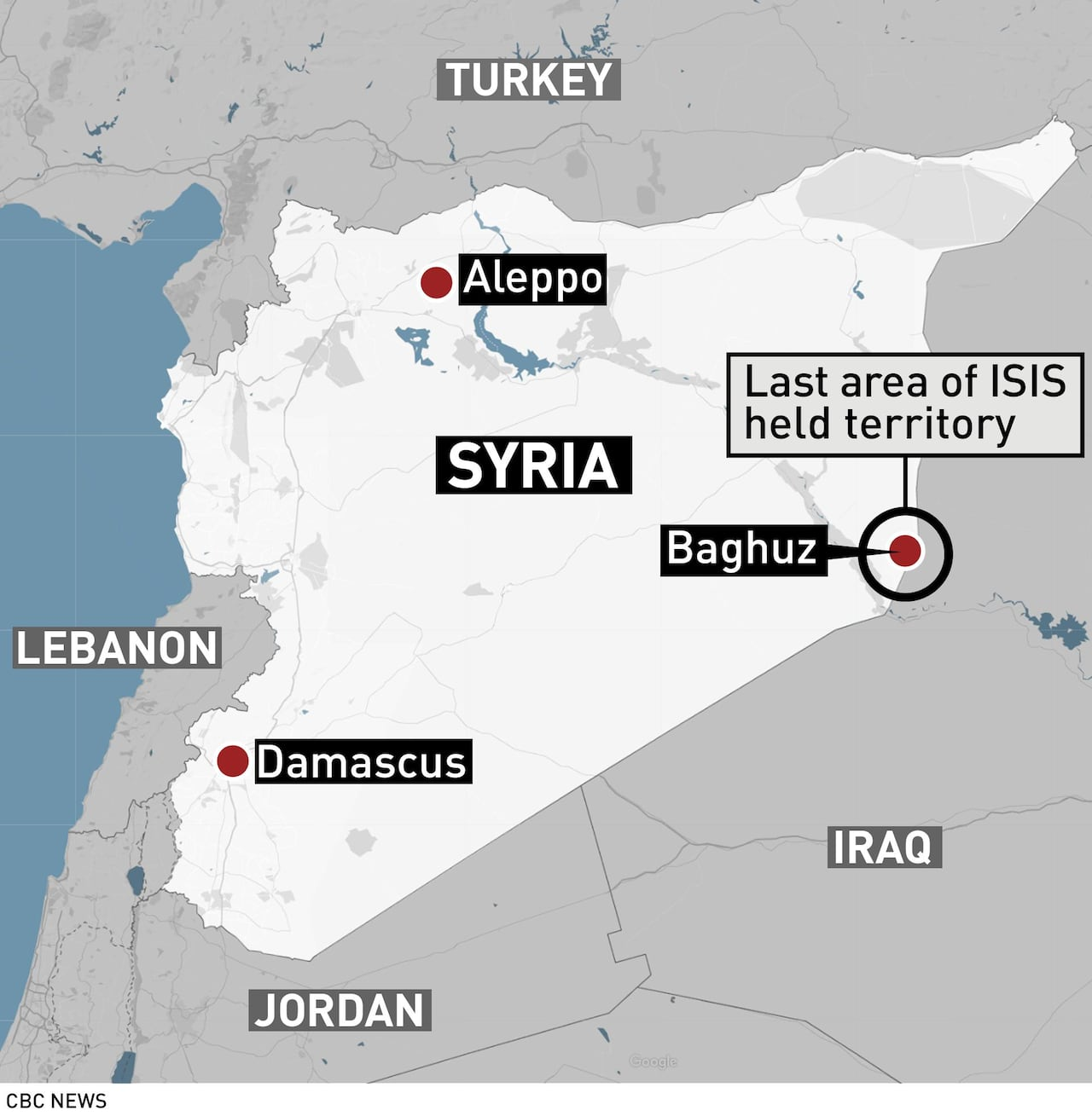 Coalition warplanes hit last ISIS enclave in eastern Syria | CBC News