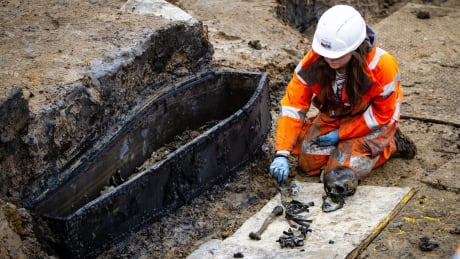 Digging up the past: 40,000 skeletons being exhumed to make room for London