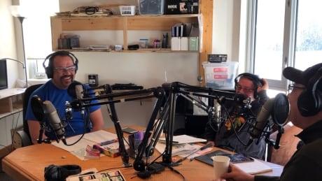 Gimaa Radio show hosts