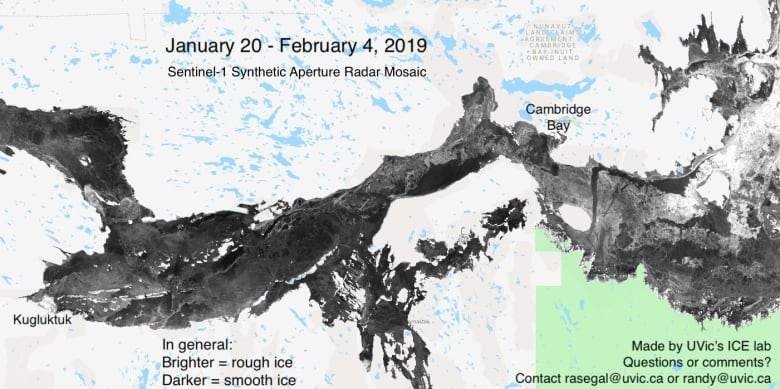 Thunder Bay Radar Map Inuit hunters use new radar maps to navigate rough ice | CBC News